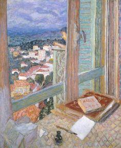 PIERRE BONNARD The Window (La Fenêtre, 1925)