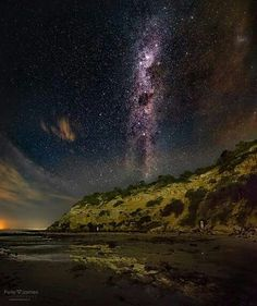 Barwon Heads Bluff & The Milky Way, Victoria Australia Iconic Australia, Victoria Australia, Australia Travel, Milky Way, My Happy Place, Northern Lights, Explore, Beach, Places