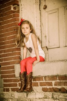Kids always look great in boots! http://lovethoseboots.com/index.php/childrens-boots/girlsboots.html