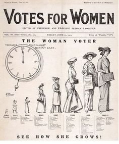 Women's Suffrage: PLEASE HELP?