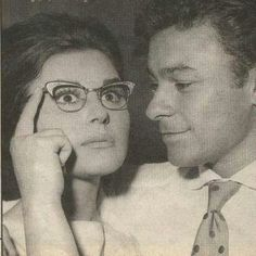 Egyptian actors..souad Hosni and Ahmed Ramsy