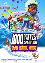 MONTGENEVRE - 6 et 7 avril - 27ème édition de la 1000 PATTES - Le plus grand rassemblement d'enfants en Europe