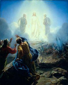 The Transfiguration by Carl Heinrich Bloch