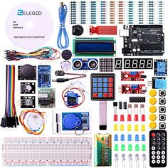 Elego 2016 New Upgrade RFID Master Starter Kit with Tutorial, RC522 Module, UNO R3, LCD1602 IIC, Breadboard and Jumper wire For Arduino - http://our-shopping-store.com