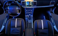 Ten Senseless Car Technologies - 3. Color changing ambient lighting