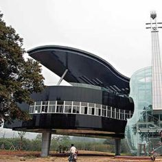The piano house by itself would have been better. A little more abstract... A little less literal..