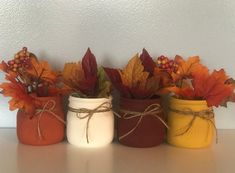 Fall Mason Jar Decor Set of 4 Fall Centerpeices Thanksgiving Decorations Rus Fall Mason Jar Decor Set of 4 Fall Centerpeices Thanksgiving Decorations Rustic Fall Wedding Decor Wedding Centerpieces Vintage Decor Fall Room Decor, Rustic Fall Decor, Fall Apartment Decor, Fall Fireplace Decor, Fall Kitchen Decor, Fall Wedding Decorations, Thanksgiving Decorations, Decor Wedding, Thanksgiving Wedding