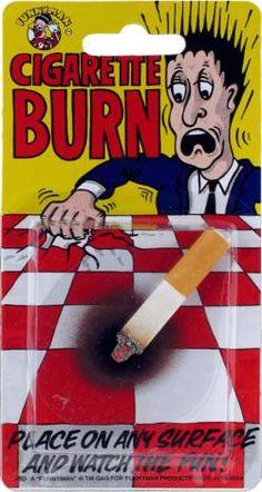 Cigarette avec effet brulure - déguisement pas cher