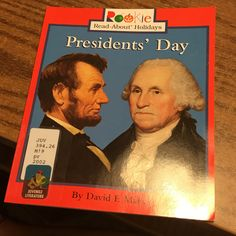 Check this book out and learn all about Presidents' Day!