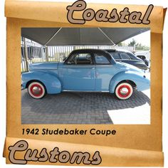 Any car from 1942 is a rare thing, thanks to the war-shortened production year, but the number of 1942 Studebakers in existence is probably a very small number indeed. Contact us for more info: 044 697 7583 Vintage Cars, War, Number, Cutaway, Antique Cars, Retro Cars