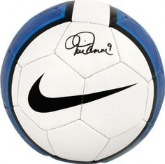Mia Hamm Autographed Nike Youth Soccer Ball by Mounted Memories. $198.99. Mia Hamm signed Nike soccer ball. This item will come with our Certificate of Authenticity (COA), and our tamper-proof hologram on the item.