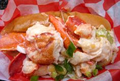 Off-the-hook lobster dishes and chowders @Red Hook Lobster Pound.  Worth the shlep from Manhattan! Lobster Dishes, Seafood Dishes, Fish And Seafood, Lobster Recipes, Seafood Recipes, Lobster Pound, Best Lobster Roll, Lobster Rolls, Special Recipes