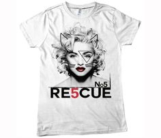 The Material Girl Tee or Tank. 25% of proceeds will go to animals in need.