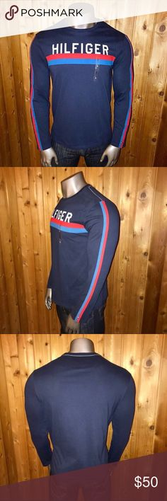 be3d1125249b2 Tommy Hilfiger Long Sleeve Men s Medium Shirt Brand New With Tags! Size