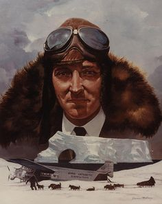 May 2, 1926: Richard E. Byrd and Floyd Bennett made the first flight over the North Pole in a Fokker F-VII Tri-motor
