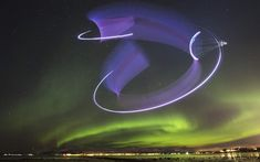 A northern lights stunt done for the very first time, Red Bull claims. Dancing Day, Visit Norway, Northern Lights, Dance, Dancing, Nordic Lights, Aurora Borealis, Aurora