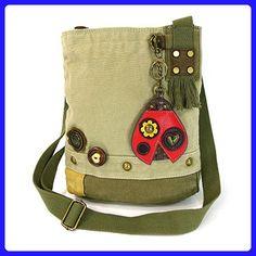 Ladybug Patch Crossbody Bag (Sand) - Crossbody bags (*Amazon Partner-Link)
