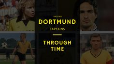 The Dortmund captain through time has always been a German national. See this total list of all Dortmund captains since 1963 until present time.