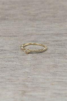 I love simple rings!