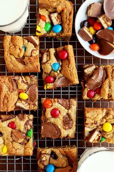 Joy the Baker does the absolute most with leftover Halloween candy: Candy Bar Blondies