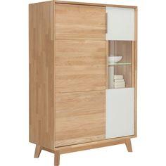 kommode dahlia i kommode eiche und hochglanz. Black Bedroom Furniture Sets. Home Design Ideas