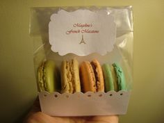 My prototype macaron packaging