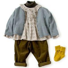 LILI et NENE (リリ・エ・ネネ)|BONTON(ボントン),BONTON(ボンポワン)などベビーのコーディネートアイデア Kids Fashion, Sweaters, Clothes, Design, Little Girl Clothing, Bebe, Outfits, Clothing, Kleding