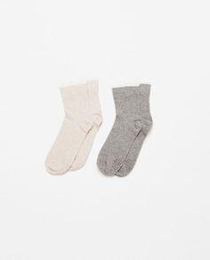 Image 1 of PACK OF YOGA SOCKS from Zara