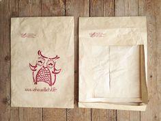 Recycler l'enveloppe du chouette kit