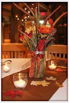 autumn wedding decorations   Decorations, Fall Wedding Table Decorations Photos: Fall Wedding Table ...