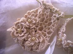 Cotton Lover's Bridal Purse ....similar to the ones I made 30 years ago for my bridesmaids :)