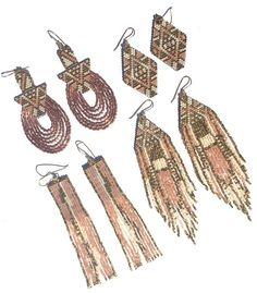 Gold Split Earrings