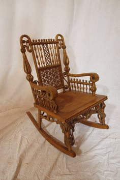 Heywood Wakefield (Attributed) Childs Victorian Fancy