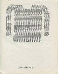 Typewriter Drawings.