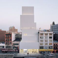SANAA, New Museum, 2007 | Photo by Dean Kaufman, Courtesy New Museum