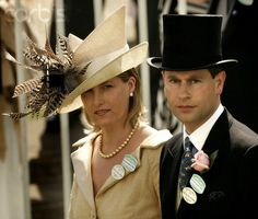 Sophie, Countess Of Wessex & her husband, Prince Edward