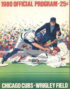 Cubs 1980 Scorecard