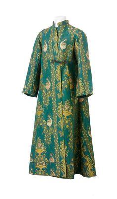 """robe d'intérieur (ou banyan) de Jacques Vaucanson, dite """"chasuble de Vaucanson"""". Paris, vers 1770-1780"""