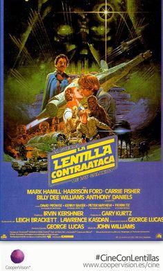 'La Lentilla Contraataca' Hasta el 31 de julio consigue tu entrada gratis de #CineConLentillas en www.coopervision.es/cine