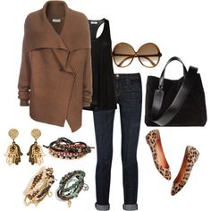 This is a nice casual outfit.
