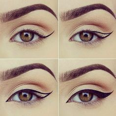 Seriously gorgeous! Love this eyeliner tutorial from artist @miaumauve #jadeywadey180