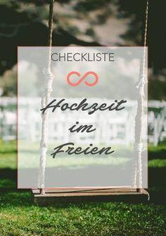 Eine Hochzeit im Freien, ein paar hilfreiche Tipps