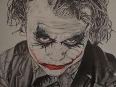 The Joker Pencil Drawing by JLeonardK.deviantart.com on @DeviantArt
