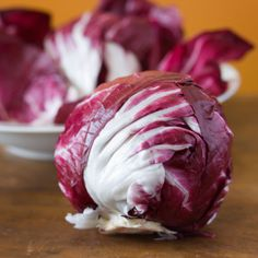 Radicchio Red Chicory produces small heads with white-ribbed, wine-red leaves and peppery flavor. It will grow in full sun to part shade. Discover more.