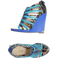 ROBERTO CAVALLI Wedge ($730) ❤ liked on Polyvore