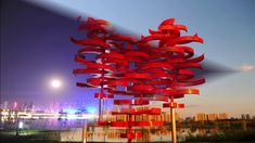 LOVING HEART is a kinetic, wind-driven site-specific public sculpture now in the permanent collection of the City of Changchun, China. Sculpture Art, Sculptures, Changchun, Kinetic Art, New Instagram, Land Art, Public Art, Love Heart, Installation Art