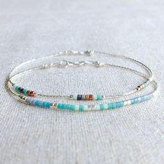#bracelets #simplestyle #delicatebracelet #daintyjewelry #minimal #minimalist #simple #jewellery #jewelry #miyuki #beading #boho #bohostyle #silver #instajewelry #instafashion #cultivatehandmade #lukh #mydesign #ownboss #creator #bijoux #tinyjewelry #colour #colourblock #summer #favourite #etsyuk #etsyseller #getitnow
