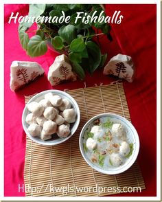 INTRODUCTION When I was young, it is not common to have fish balls sold in the counter.. If you want to eat fish balls, families will have to prepare their own fish balls. Well, then recipe ...Homemade Fish Balls (手工鱼丸) #guaishushu #kenneth_goh #fish_balls  #鱼丸