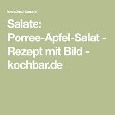 Salate: Porree-Apfel-Salat - Rezept mit Bild - kochbar.de