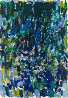 Joan Mitchell, Untitled, 1977, Oil on canvas, 260,4 x 180,3 cm. Collection of the Joan Mitchell Foundation, New York